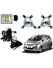 Auto Pearl Fog Lamp with Wiring Kit and Switch for Eon