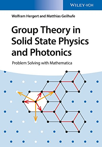 Group Theory in Solid State Physics and Photonics : Problem Solving with Mathematica por Wolfram Hergert