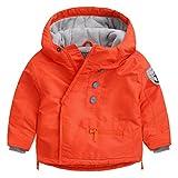 Happy Cherry - Chaqueta Invierno de Bebés Niños Abrigo Acolchado Grueso Cálido Ropa Infantil de Invierno Coat Winter Kid - Naranja - Talla ES 12-18 Meses