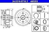 ATE 24021807162 tambor de freno