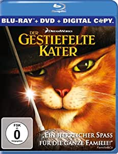 Der Gestiefelte Kater (inkl. DVD + digital Copy) [Blu-ray]