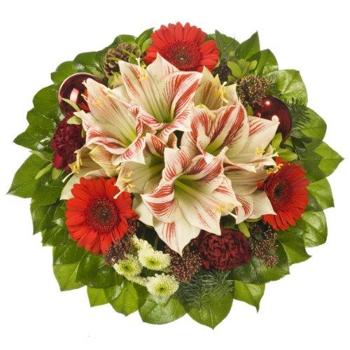 """floristikvergleich.de Dominik Blumen und Pflanzen, Blumenstrauß  """"Winterstimmung"""""""