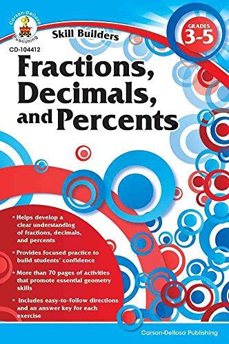 [(Fractions, Decimals, and Percents, Grades 3-5)] [Created by Carson-Dellosa Publishing] published on (January, 2011)