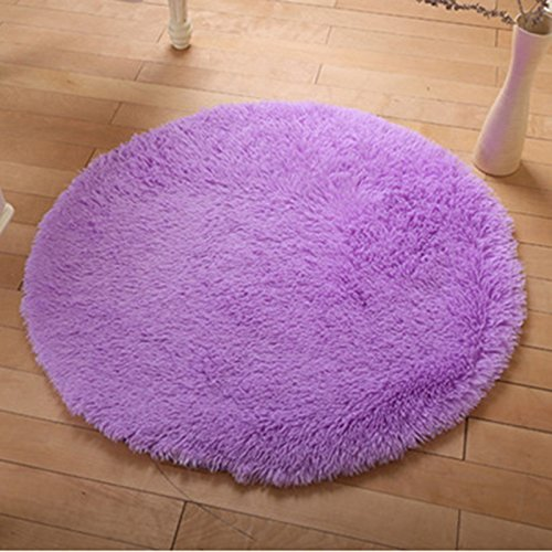 qhgstore-weiche-shaggy-umgebung-rund-teppich-wohnzimmer-teppichboden-schlafzimmer-bodenmatte-teppich