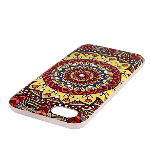 iPhone 6s Custodia, AiBOUSA® Apple iPhone 6/6s Case Custodia 4.7 Stile etnico Grafica Mandala Cover Shock-Absorption Cover Back per iPhone 6s 4.7 Erde