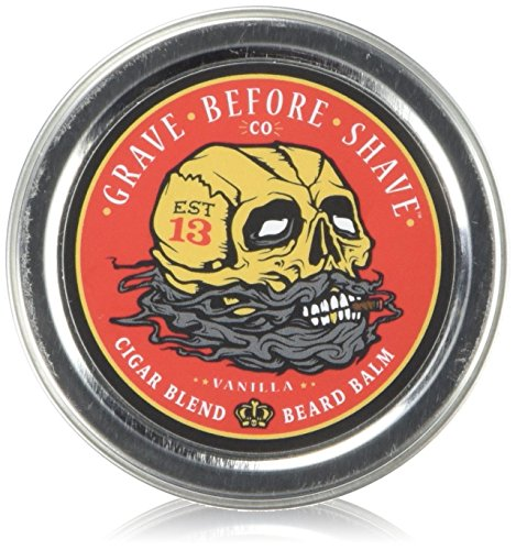 GRAVE BEFORE SHAVE Cigar Blend Beard Balm (Cigar/Vanilla scent) (2 oz.) by Grave Before Shave