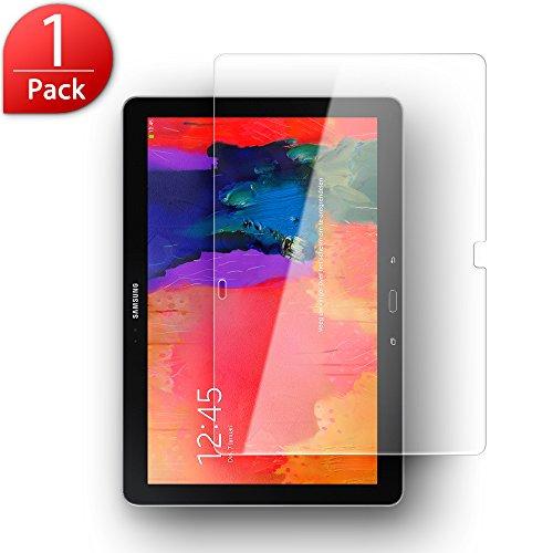 SLEO Samsung Galaxy Note Pro 12.2 (P900 / P905) Panzerglas Schutzfolie (Anti-Kratzen / Anti-Öl / Anti-Bläschen / 9H Härtegrad / Einfache Anbringung) Transparent HD Panzerfolie Displayschutz