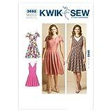 Kwik Sew Mustern k3682Größe XS/Small/Medium/Large/Extra Große Kleider, Weiß, 1Stück