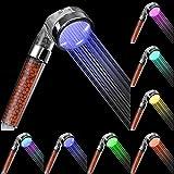 Rovtop Alcachofa Ducha Led,Cabeza de Ducha Cambiando LED 7