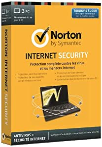 Norton internet security 2014 (3 postes, 1 an)