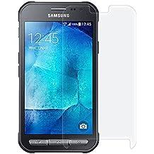 Funnytech_ - Cristal templado para Samsung Galaxy Xcover 3. Protector de pantalla transparente para Samsung Galaxy Xcover 3. Vidrio templado antigolpes (Grosor 0,3mm) – Kit de instalación incluido