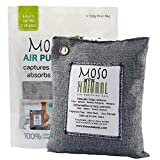 Moso Natural Air Purifying Bag 500-Grams. Natural Odor Eliminator. Fragrance Free, Chemical Free