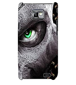 ColourCraft Eye Back Case Cover for SAMSUNG GALAXY S2 I9100