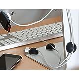 Guide câbles pour bureau (5 pcs)
