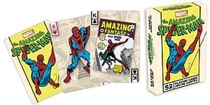 52 cartes de jeu spiderman