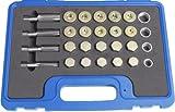 Kunzer 7OMS64 Ölablassschrauben-Reparatur-Set, 64-Teilig im Koffer