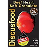Comida Gránulo peces disco - Beef Heart XL 80g Discusfood