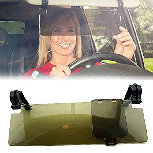 Yunshangauto® Dauerhafte Anti Glare Blendschutzring Clip-on Auto Sonnenblende Sonnenschutz Sichtschutz