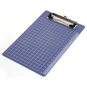 Porte bloc pince ecritoire planchette en plastique bleu - Fourniture de bureau livraison gratuite ...