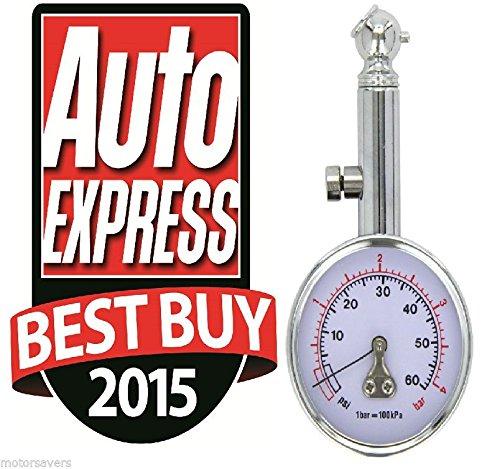 Race X RX0014 Car Tyre Pressure Gauge AUTO EXPRESS BEST BUY