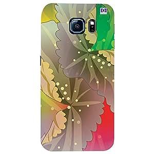 Multicolor Design - Mobile Back Case Cover For Samsung Galaxy S6