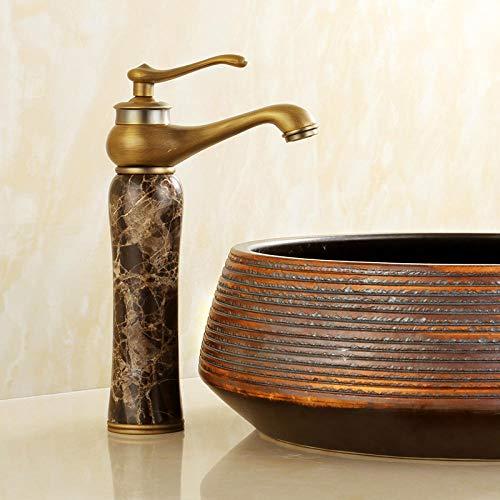 CZOOR Europäischen stil kupfer antiken wasserhahn waschbecken heiß und kalt roségold badezimmerschrank gold jade wasserhahn einlochmontage c455