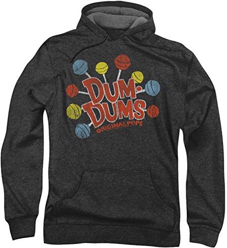 - Dum Dums - Herren Original-Pops Hoodie, XXX-Large, Charcoal