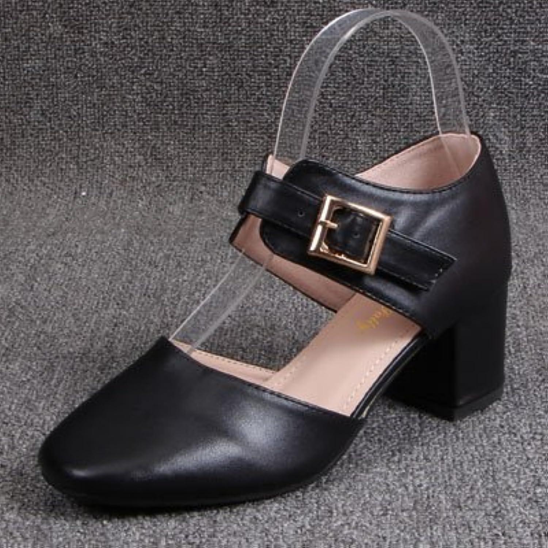 Carrée Avec Baotou Tête Creux Gaolim Épais Chaussures Y7y6vfIbg