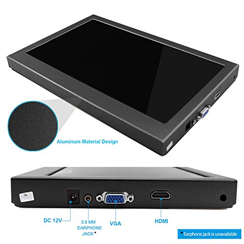 HD PC Monitor present display screen for Raspberry Pi 2B B Raspberry Pi 3B Windows 7 8 10 116 Inch 1920X1080 HDMI PS3 PS4WiiU Xbox360 1080P from Elecrow Barebones