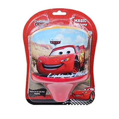 DISNEY CARS AUTOS Magische Wandlampe McQUEEN Kinderlampe 18cm Kinderzimmer Licht Leuchte von Disney bei Lampenhans.de