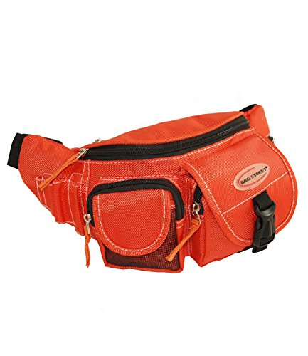 Herren Damen Bag Street Gürteltasche Bauchtasche Tasche neu 2414 Orange