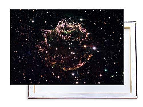 Unified Distribution Supernova - Cassiopeia - 120x80 cm - Bilder & Kunstdrucke fertig auf Leinwand aufgespannt und in erstklassiger Druckqualität