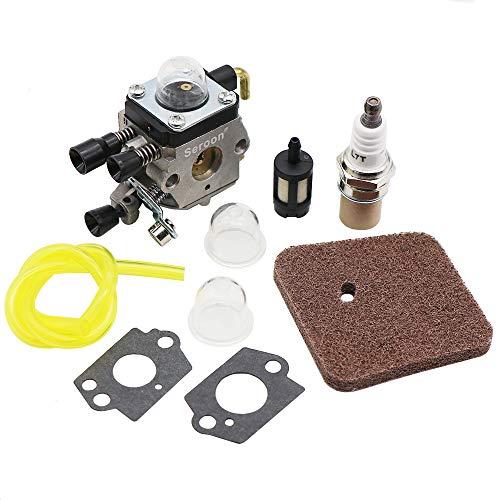 Seroon Carburetor Maintence Kit For STIHL FC55 FC85 FH75 FR85 FS38 FS45  FS45C FS45L FS46 FS55 FS75 FS80 FS85 HL45 HL75 HS70 HS74 HS80 HS85 HT70  HT75