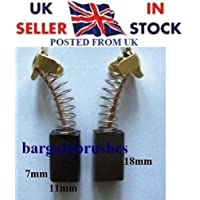 Carbon Brushes 4 Bosch 1609902213 /& Ryobi Mitre 586011008 asein 0796 TS300  E52