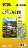Altena: 1:15.000 Stadtplan mit Wanderkarte 1:25.000 inkl. Höhenlinien (KV-Sauerland-Pläne)
