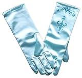 MSC Handschuhe Prinzessin Elsa Eiskönigin mit Glitzer Kostüm