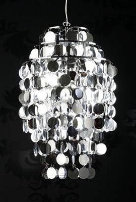 Finebuy Design Kronleuchter Allure L 395cm Chrome Hngelampe Hngeleuchte von FineBuy