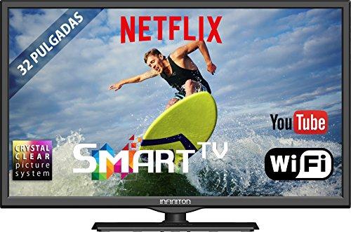 "TV LED INFINITON 32"" Smart TV - USB Grabador"