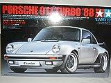 Porsche 911 964 1988 Turbo Silber Bausatz Kit 1/24 Tamiya Modellauto Modell Auto