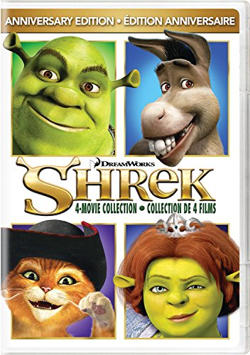 Shrek / Shrek 2 / Shrek The Third / Shrek Forever After (4-Movie Anniversary Edition)