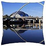 gateshead millennium bridge uk - Throw Pillow Cover Case (18