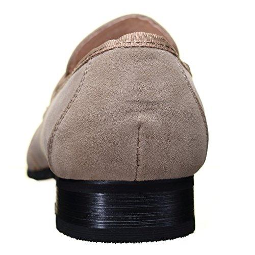Reservoir Shoes - Chaussure Derbies Anibal Mocassin Beige Beige