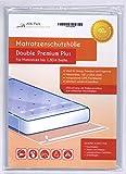 Housse De Protection Matelas Double Premium pour matelas 180cm de large avec fermeture adhésive - ULTRA solide 100µ, EXTRA long 250cm