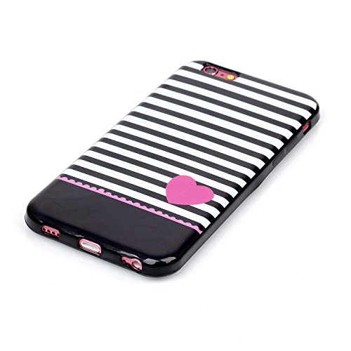 "MOONCASE Etui pour Apple iPhone 6 Plus / 6S Plus (5.5"") Silicone Gel TPU Housse Coque Case Cover XS01 XS10 #0302"
