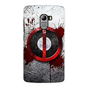 Delighted Bleed Dead Multicolor Back Case Cover for Lenovo K4 Note