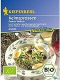 Kiepenkerl Bio Keimsprossen Daikon-Rettich