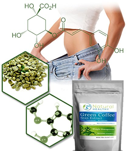 60 GCB 1000mg – Green Coffee Bean Extract Capsules – Energy support – weight loss diet pills 51cz7e8XfBL