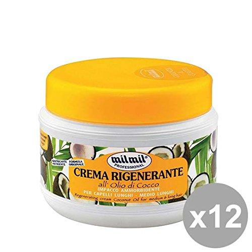 Set 12 MIL MIL Crema Capelli Rigen.500 Cocco Prodotti per capelli