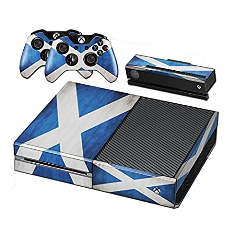 Flags Scotland Vinyl Decal Full Body Faceplates Skin Sticker For Xbox one console x 1 and controller x