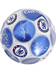 Chelsea FC Official Signature Crest Football (Size 5)